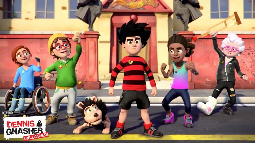 Dennis and gnasher post
