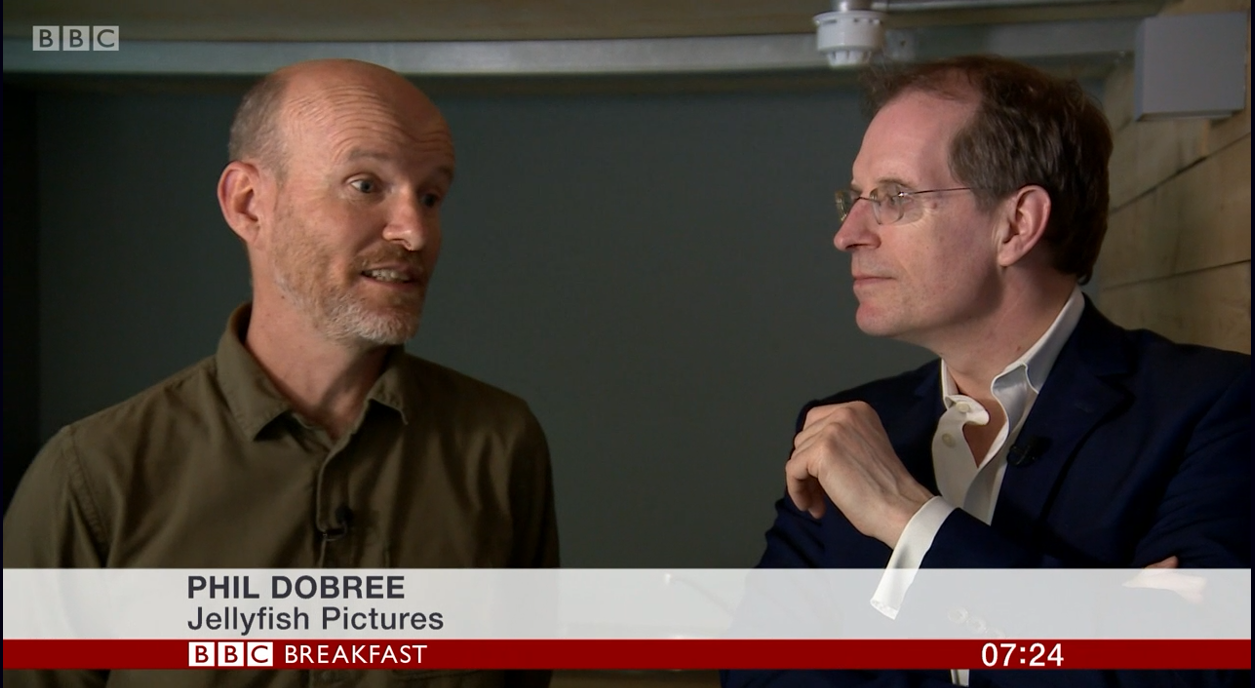 BBC Breakfast Phil Dobree