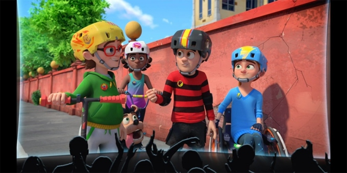 Dennis and gnasher unleashed on the big screen